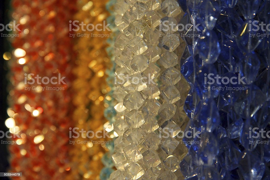 Clear Beads royalty-free stock photo