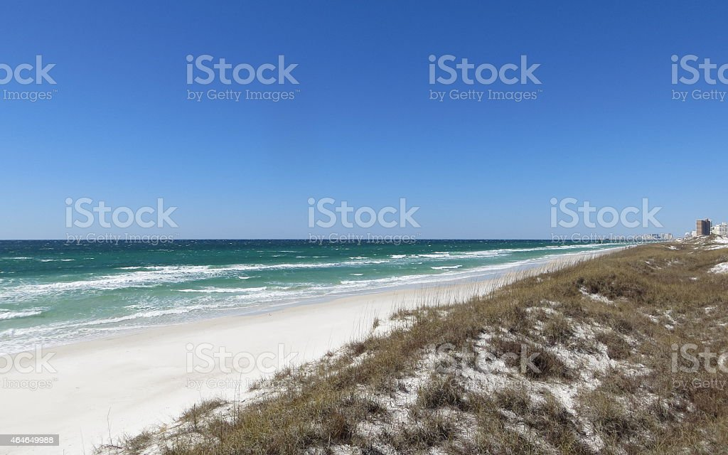 Clear Blue Skies stock photo