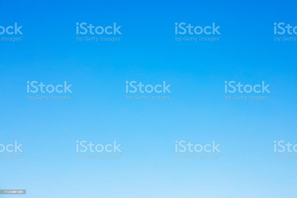 清晰的藍天背景和空白空間為您的設計, 沒有雲 - 免版稅地勢景觀圖庫照片
