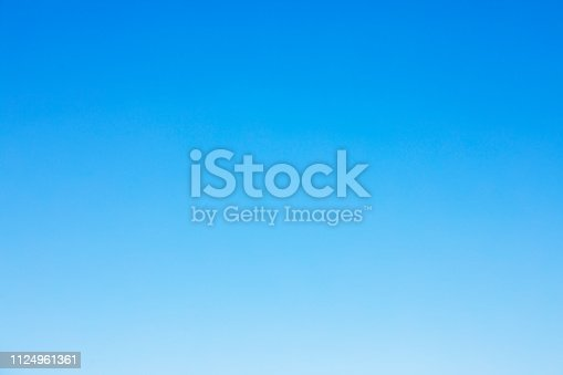 Clear blue sky background and empty space for your design, no cloud.