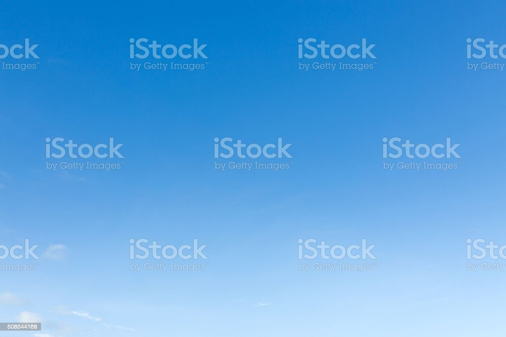 clear blue sky background stok fotoğrafı