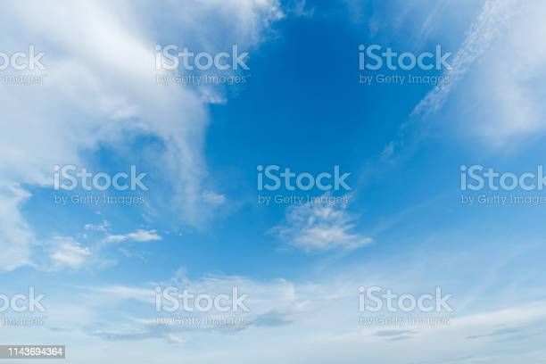 Photo of clear blue sky background,clouds with background.