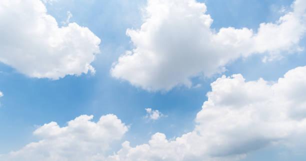 clear blue sky background,clouds with background. – zdjęcie