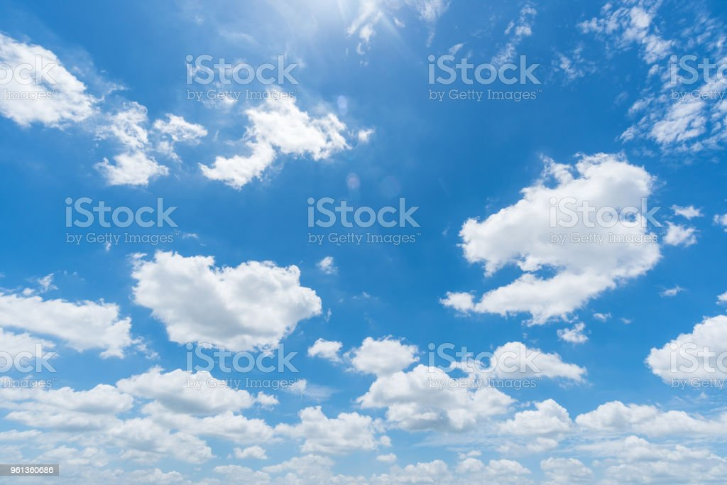 clear blue sky background,clouds with background. stock photo