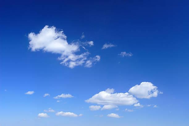 XXL Clear Blue Sky panorama stock photo