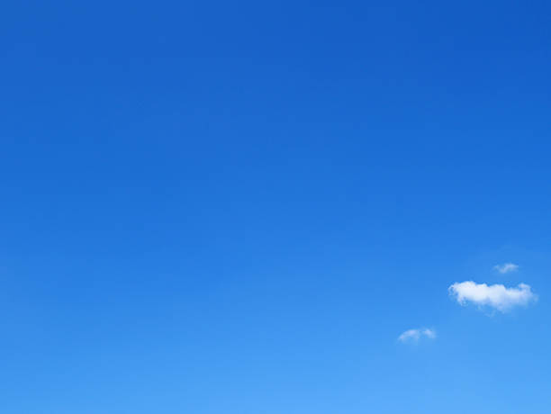 clear blue sky - clear sky stock pictures, royalty-free photos & images