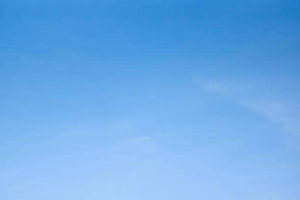 Clear blue sky – zdjęcie