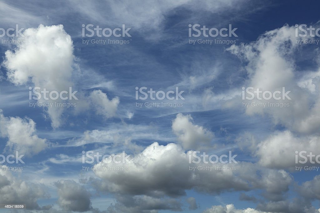 Clear Blue Sky XXXL stock photo