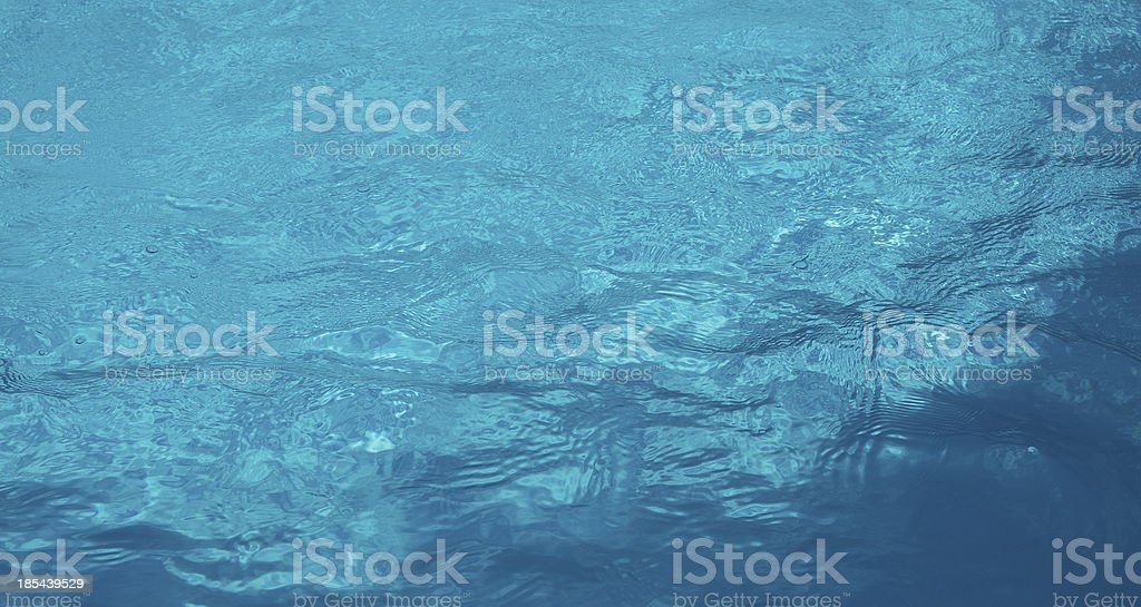 Clear Blue Water royalty-free stock photo