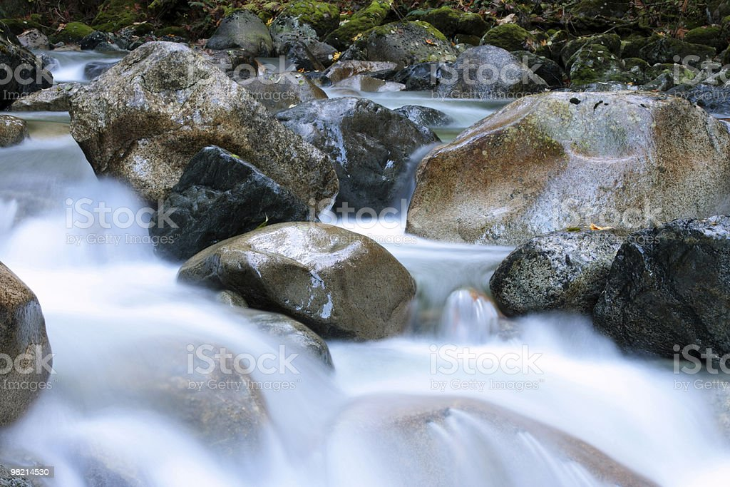 Clear, Cold, Creek royalty-free stock photo