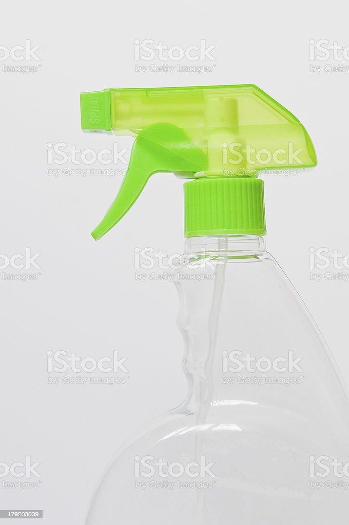 Gestell aus durchsichtigem Kunststoff Spray Bottle – Foto