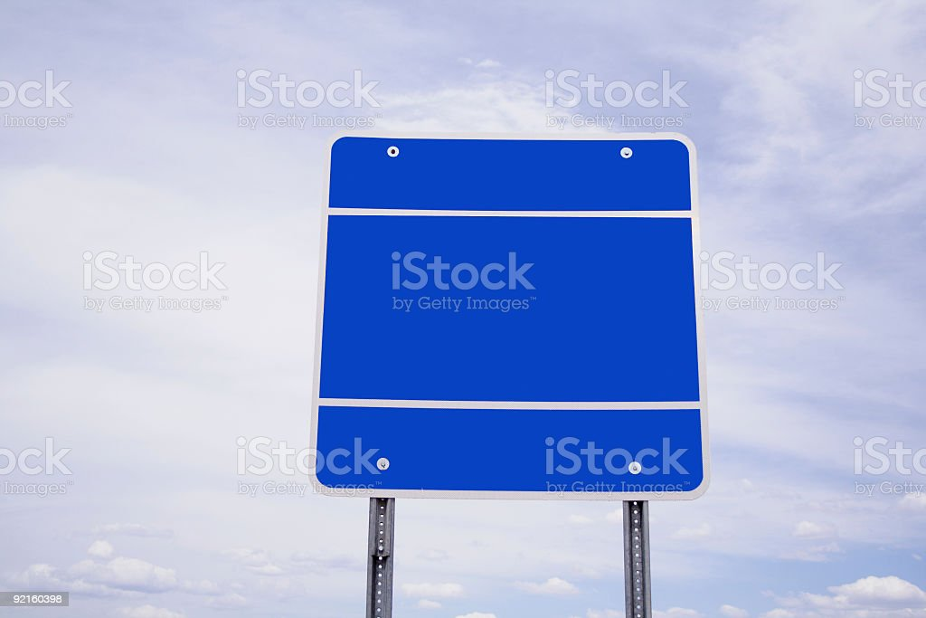 Clear Sign royalty-free stock photo