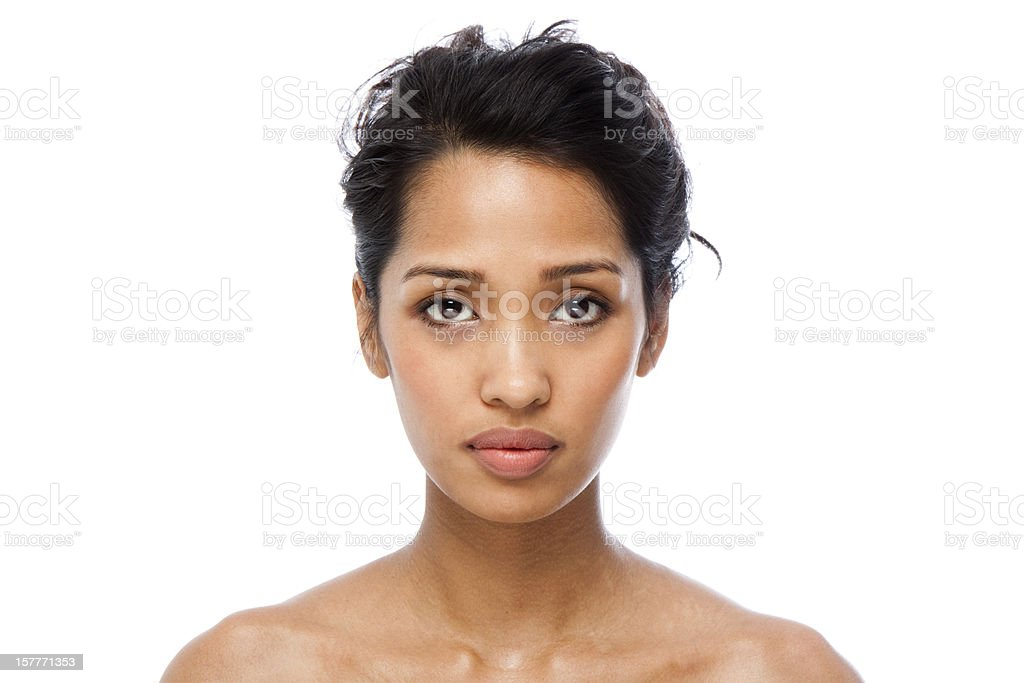 Clear Skin royalty-free stock photo