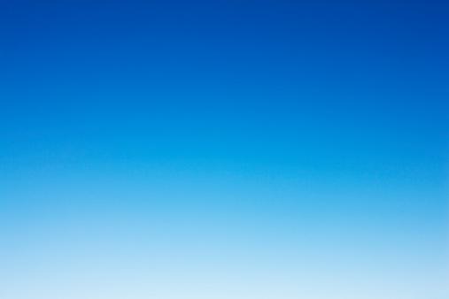 A plain clear sky. Useful as background. Sky only. XXXL (Canon Eos 1Ds Mark III)