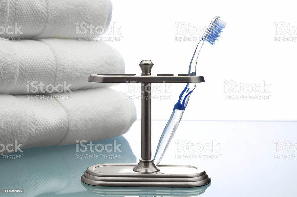 Clear Toothbrush royalty-free stock photo