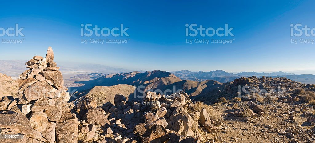 Clear view from the summit royalty-free stock photo