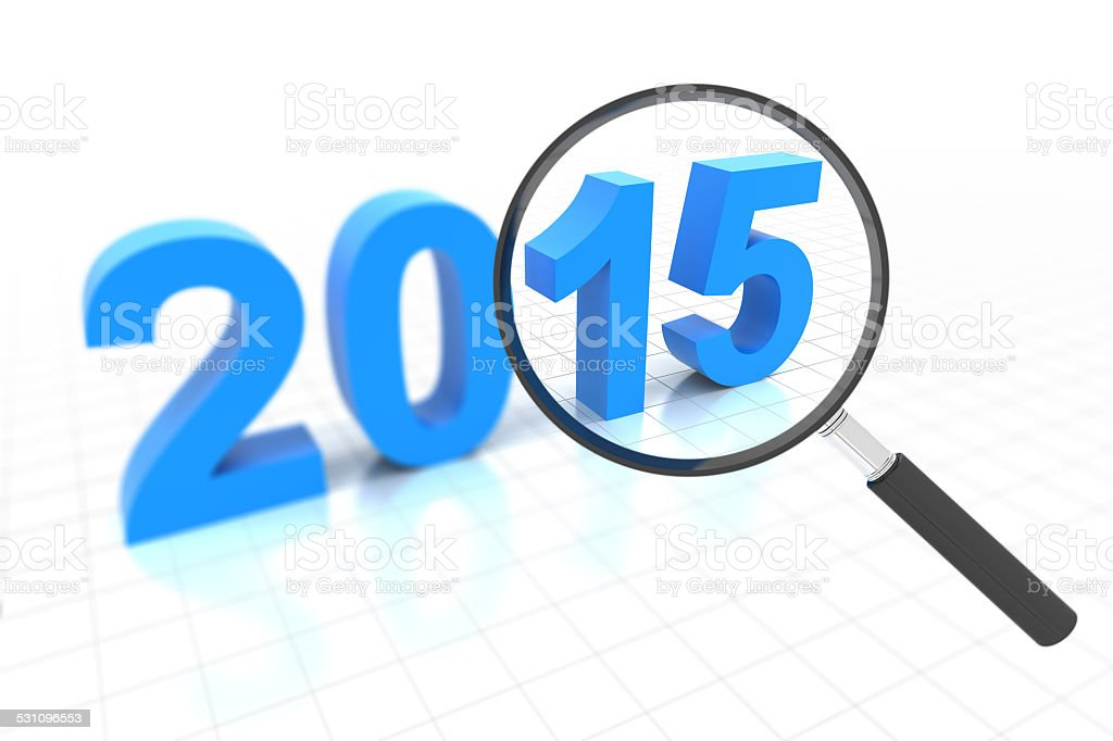 Clear view in 2015 stock photo