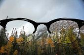 Clear Vision autumn Mountains