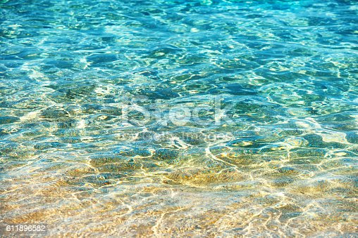 istock Clear water background 611896582