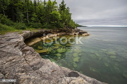 627263082istockphoto Clear Water Cove On Lake Superior 582280842