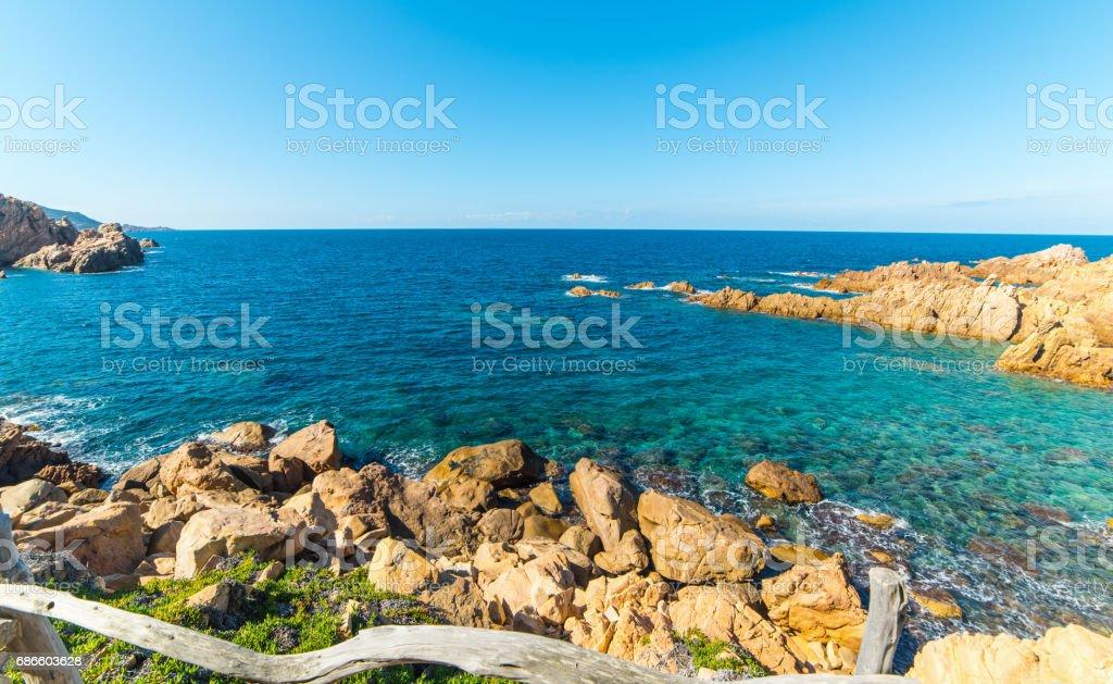 Clear water in Sardegna photo libre de droits