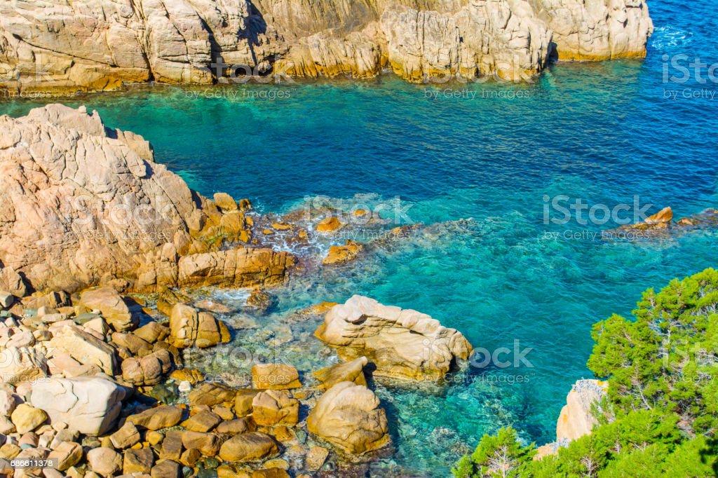 Clear water in Sardinia photo libre de droits