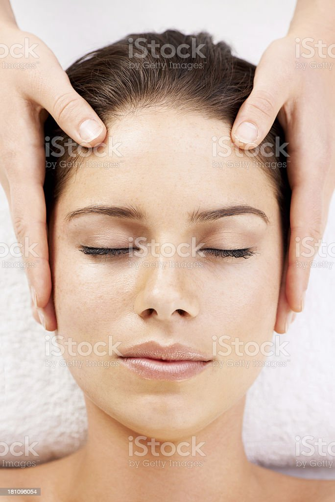 Clear your mind... royalty-free stock photo