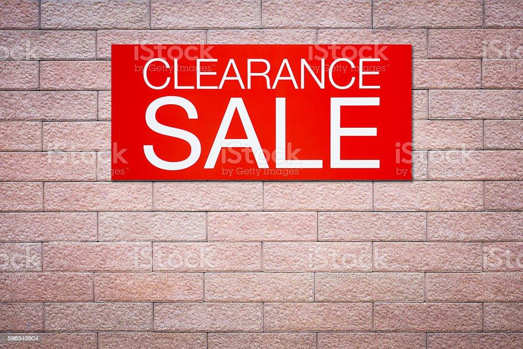 verkauf sale, billboard Lizenzfreies stock-foto