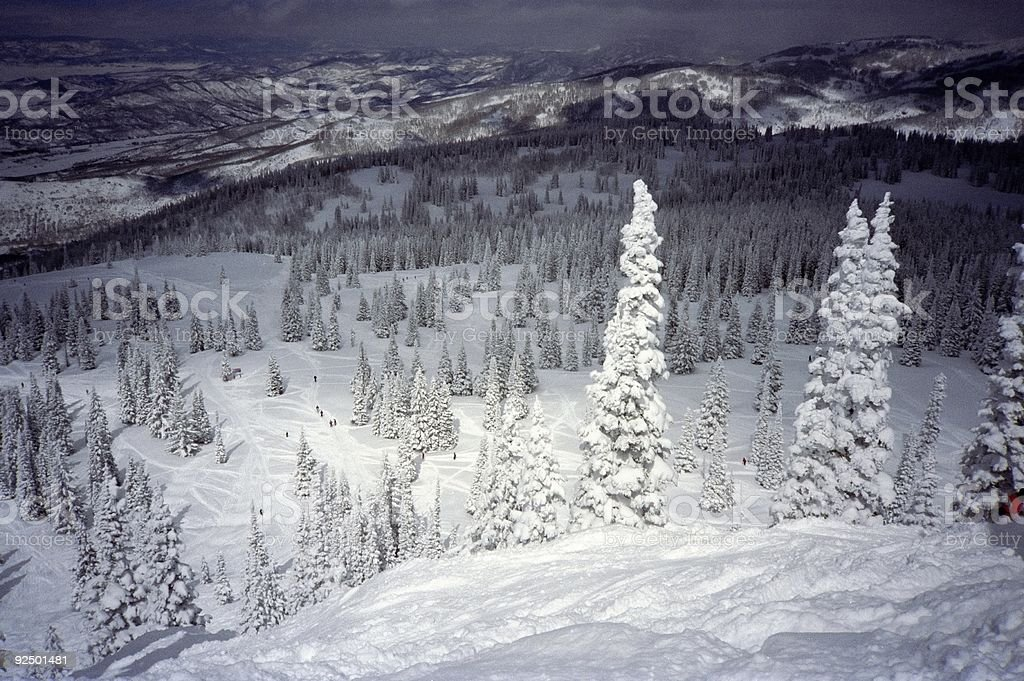 Clearing Storm-Steamboat Co royalty-free stock photo