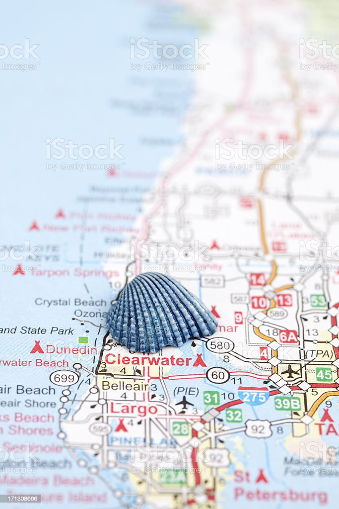 Map Of Clearwater Beach Florida.Royalty Free Florida Highway Map Pictures Images And Stock Photos