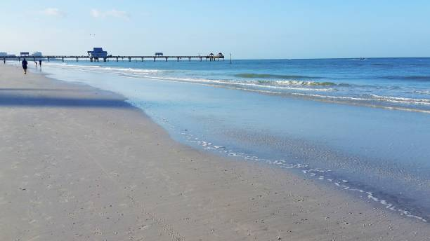 Clearwater. Florida Beach stock photo