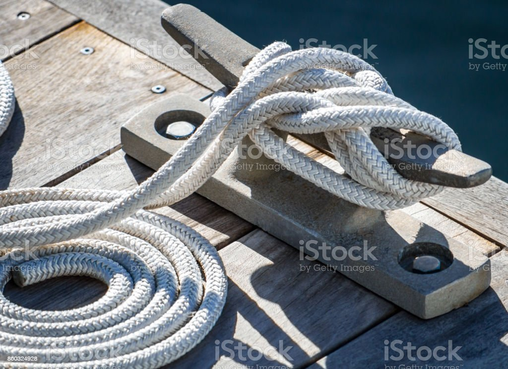 Cleat Hitch stock photo