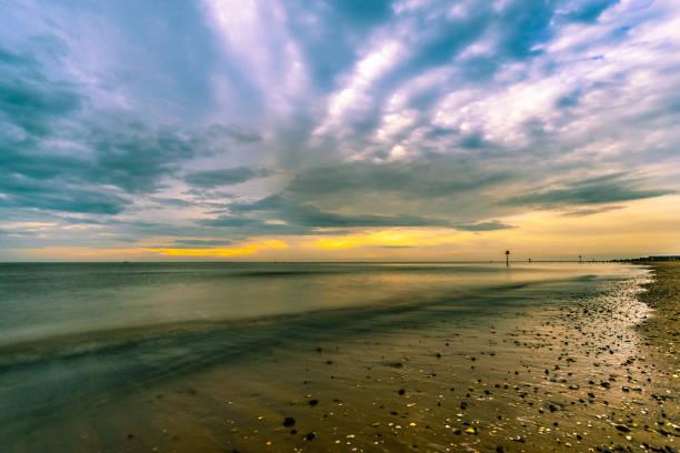 cleethorpes 海灘 - 林肯郡 個照片及圖片檔