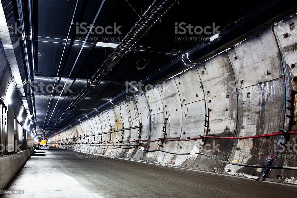 Clem 7 Tunnel stock photo