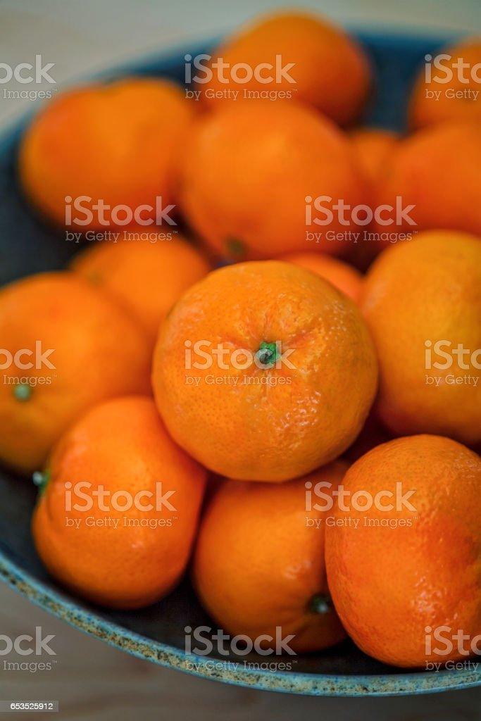 Clementine Oranges stock photo
