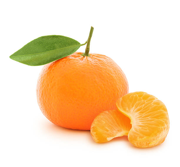 Clementine Clementine isolated on white (excluding the shadow) tangerine stock pictures, royalty-free photos & images