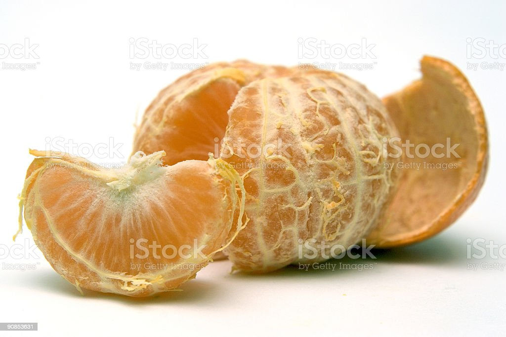 Clementines - Easy to peel royalty-free stock photo