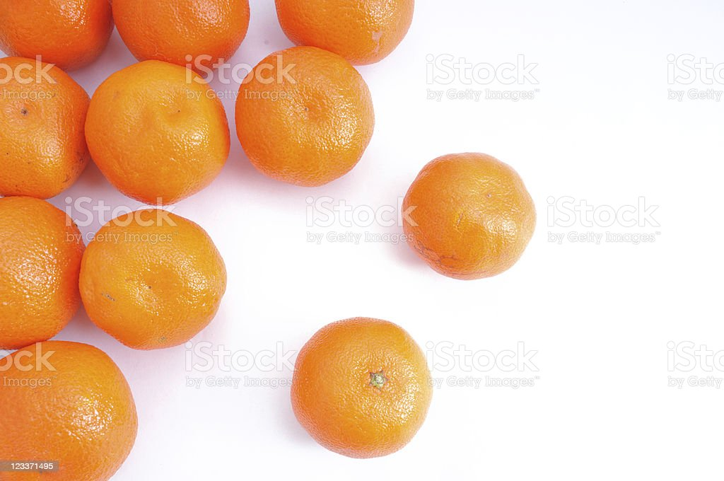 Clementines from Above stock photo