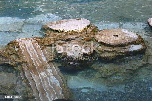 istock Cleopatra bath pool in Turkey, Pamukkale. 1158318187