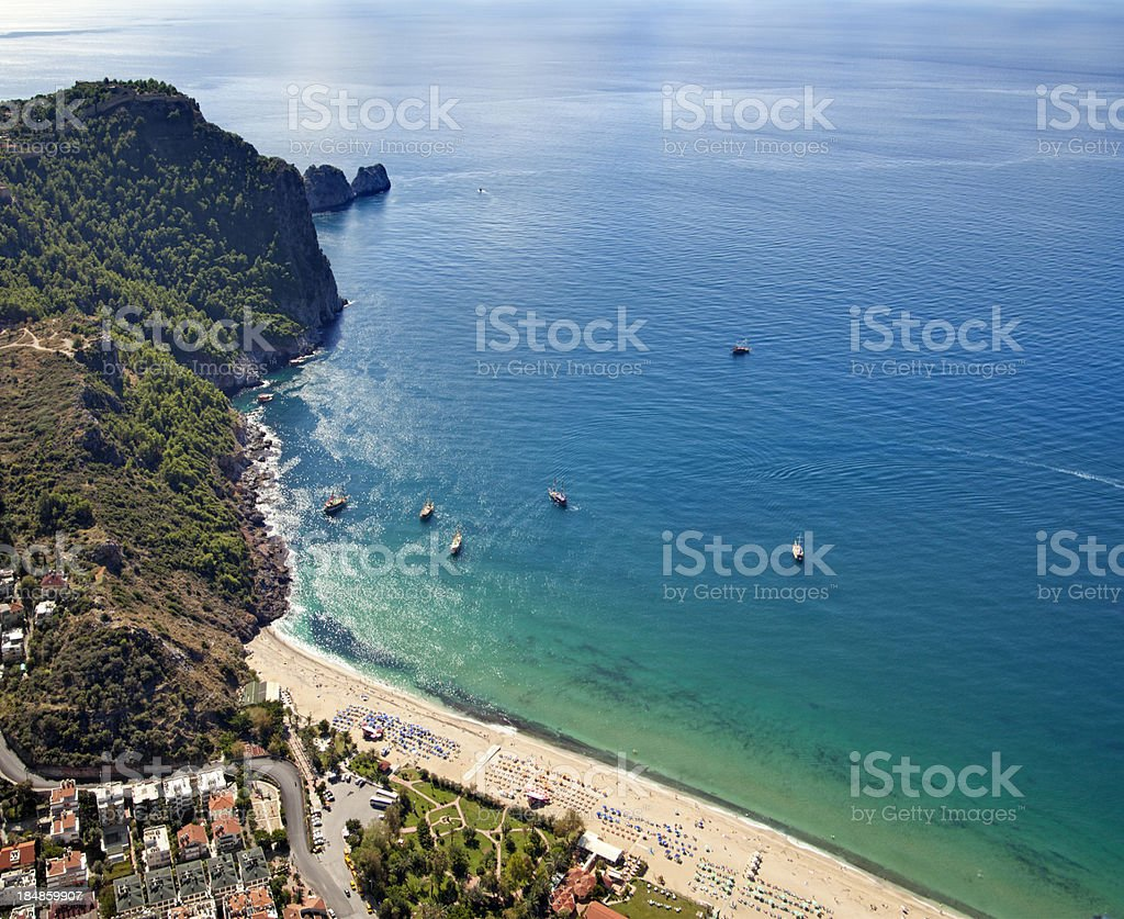 Cleopatra Beach, Alanya / Turkey stok fotoğrafı