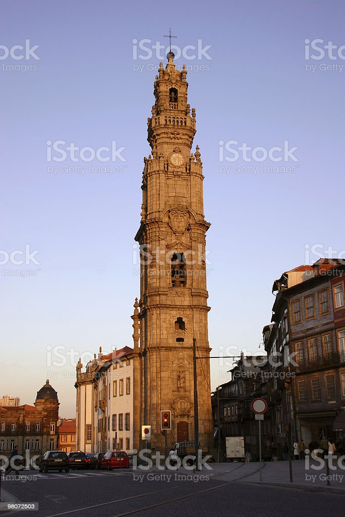Clérigos Tower royalty-free stock photo