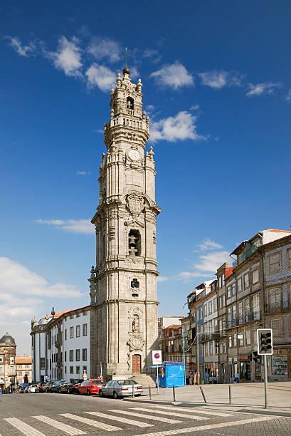 Clerigos tower in Porto (Portugal – Foto