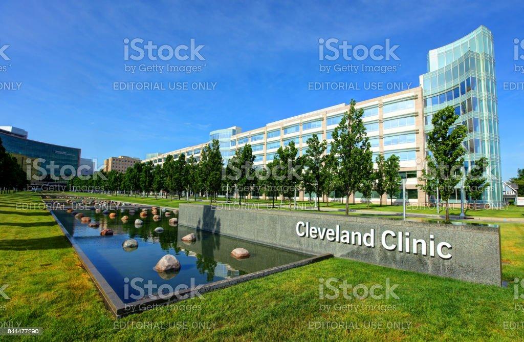 Cleveland Clinic stock photo