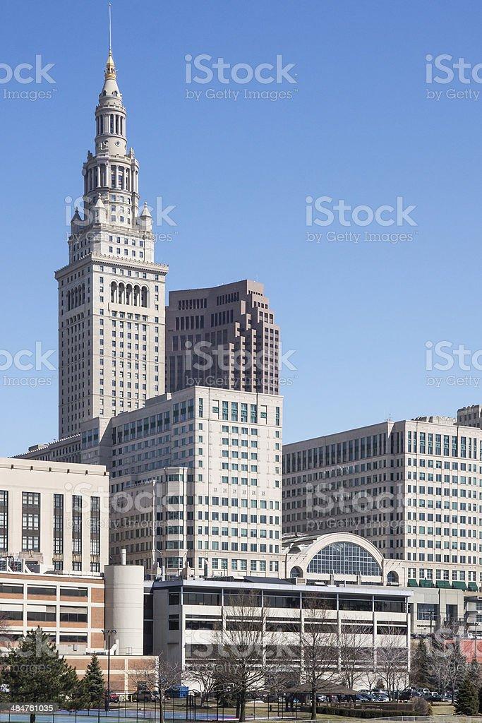 Cleveland Landmark stock photo