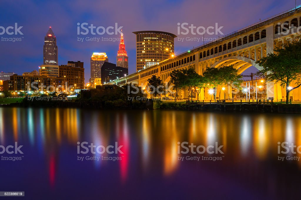 Cleveland, Ohio stock photo