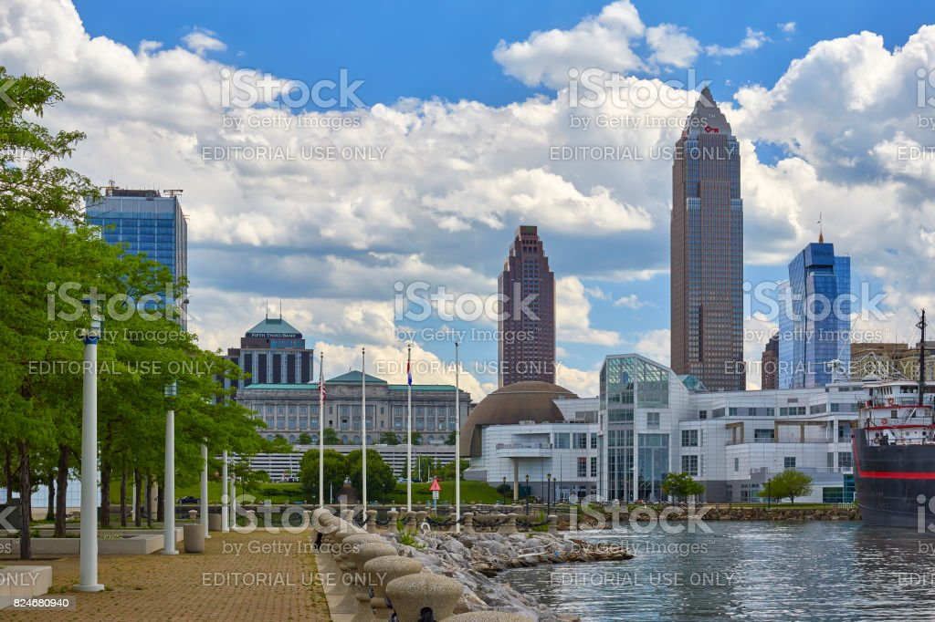 Cleveland, Ohio Skyline stock photo