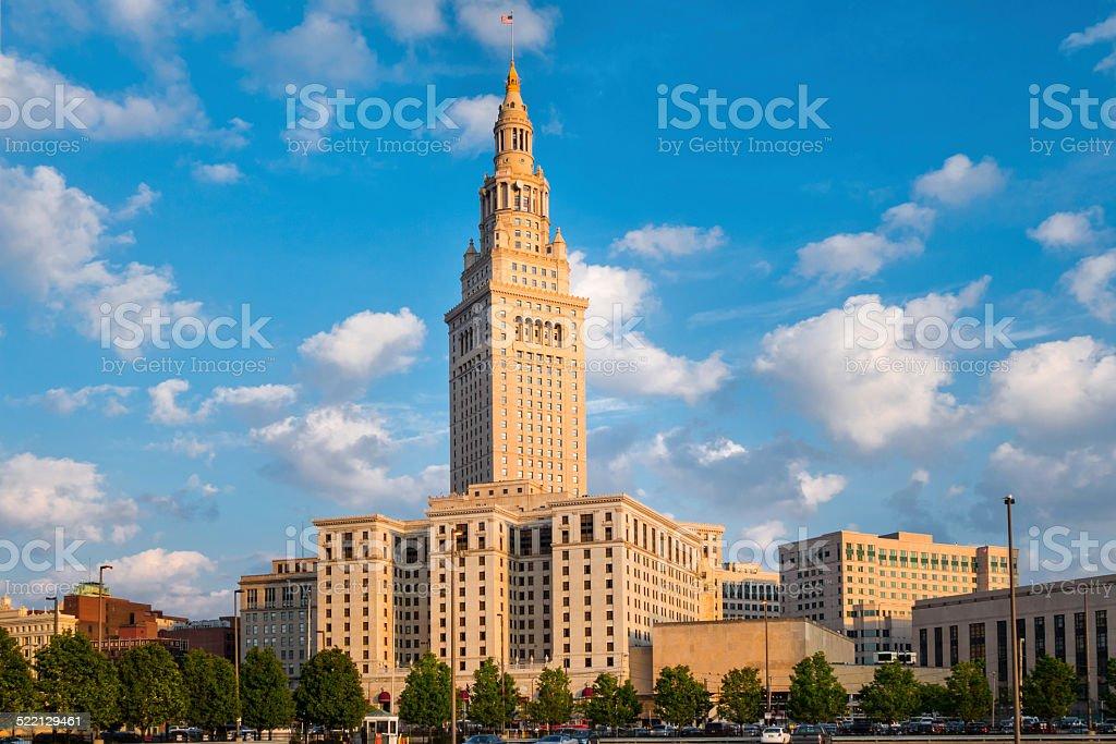Cleveland Ohio USA Tower City Center stock photo