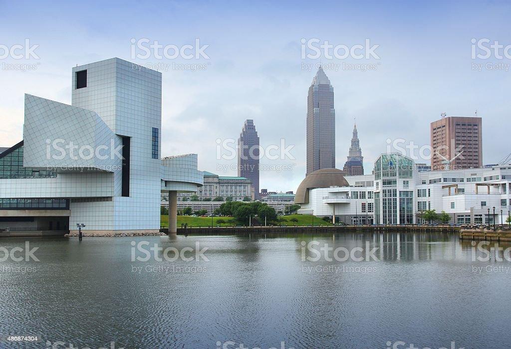 Cleveland stock photo