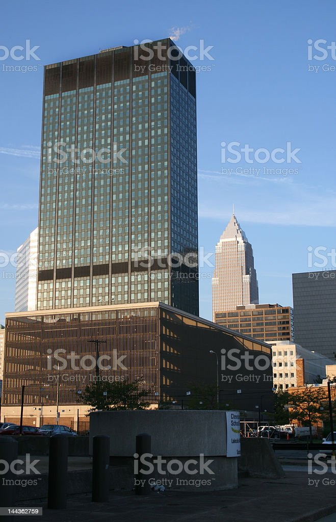 Cleveland Skyline stock photo