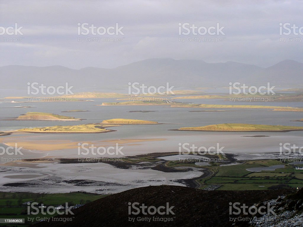 clew bay royalty-free stock photo